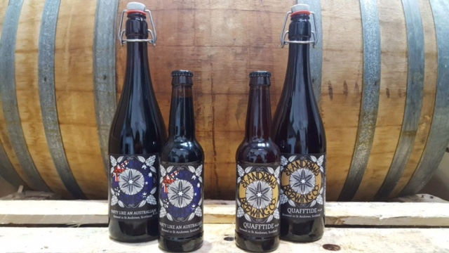 St Andrews Brewing Company introduces two barrel aged specials to the market