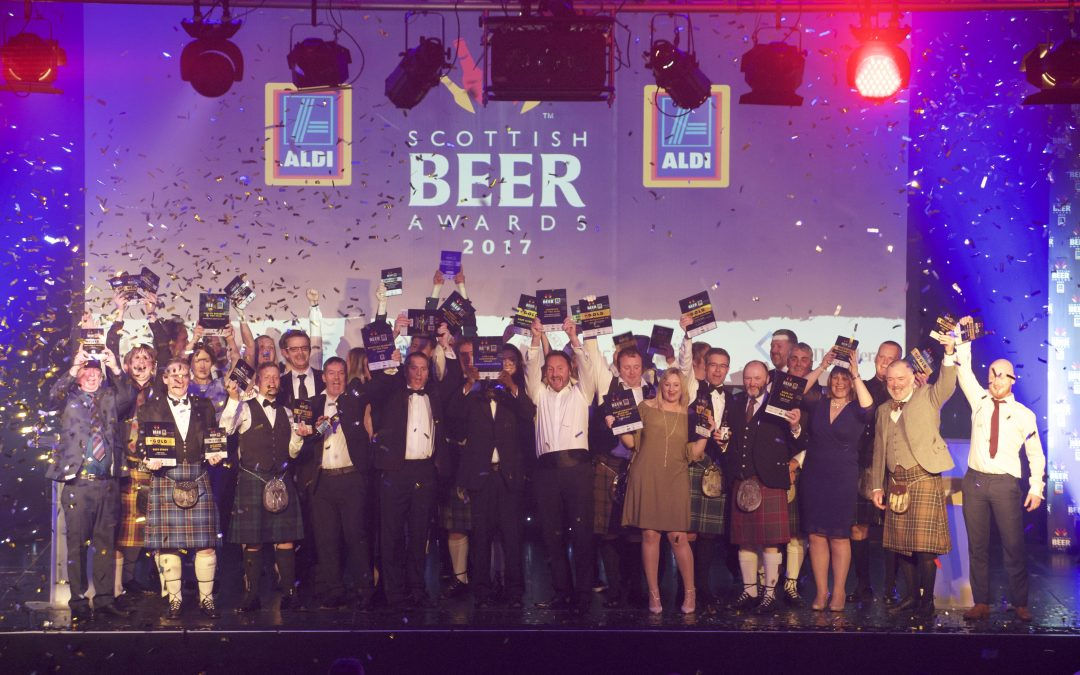 Winners of 2017 Scottish Beer Awards Announced