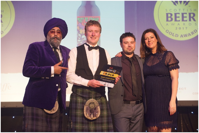 Success for Stewart Brewing founder and team  at Scottish Beer Awards 2017