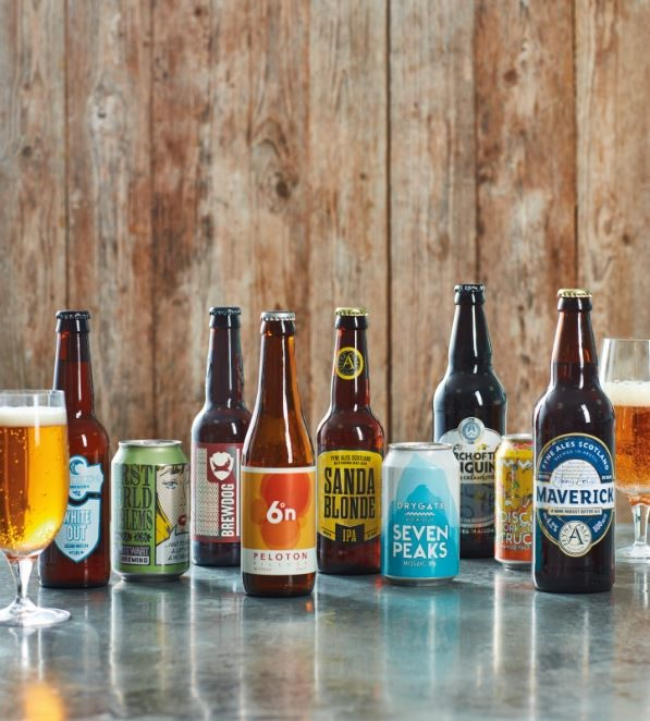 Lidl toast the Scottish craft beer industry