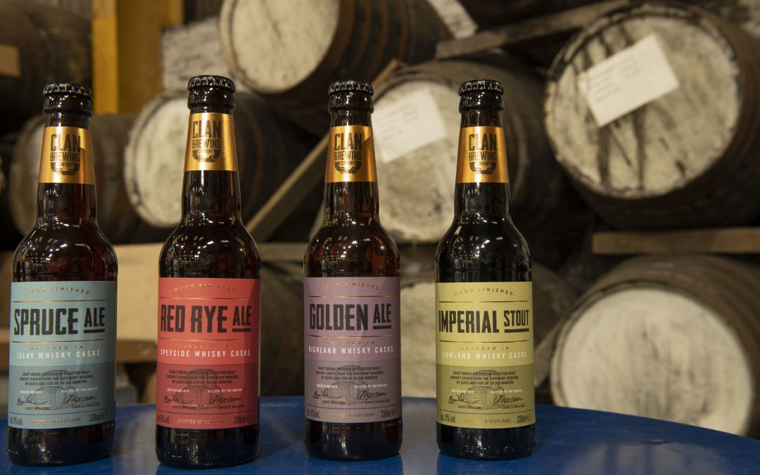 Whisky beer company scoops four golds and silver at European craft ale awards